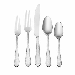Tibet 45 Piece Flatware Set, Service for 8