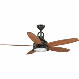 Gehlert 5 Blade LED Ceiling Fan with Remote