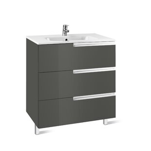 Victoria-N 605mm Wall Mount Vanity Unit By Roca