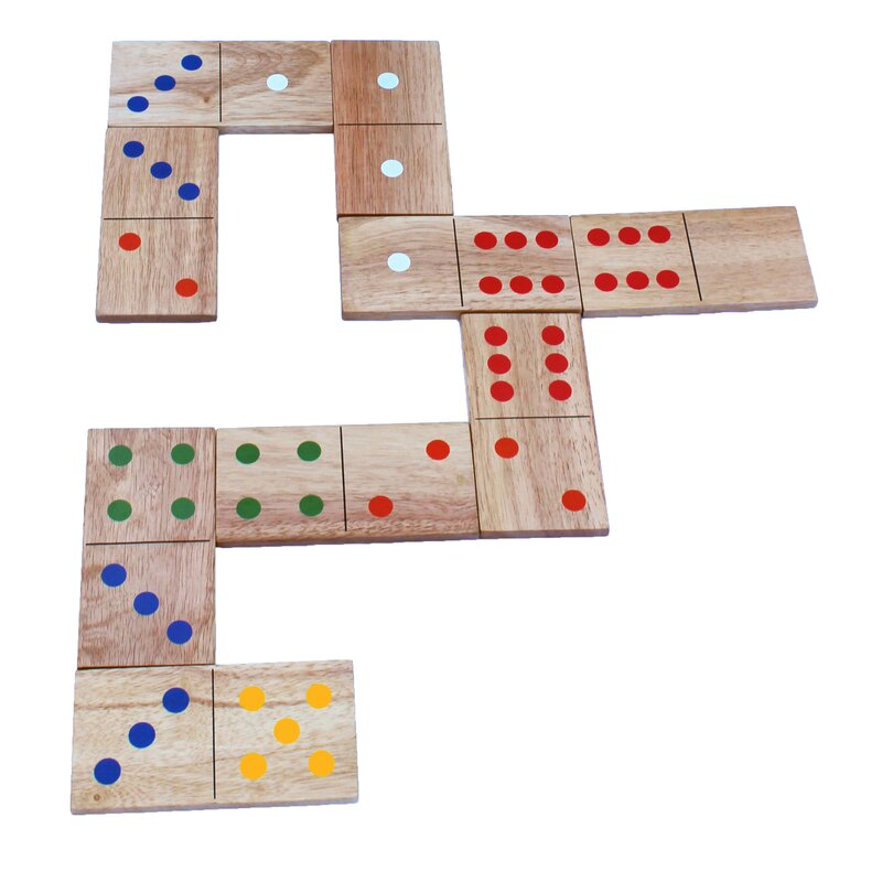 28 Piece Domino Giant Board Game Set