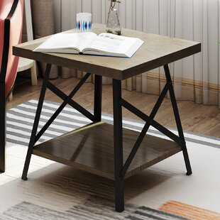 Gamble End Table by August Grove