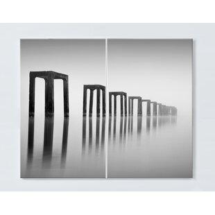 Fine Art Magnetic Wall Mounted Cork Board By Ebern Designs