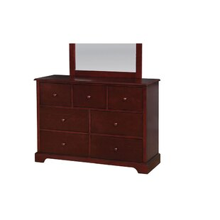 Ratzlaff 7 Drawer Double Dresser by Harriet Bee