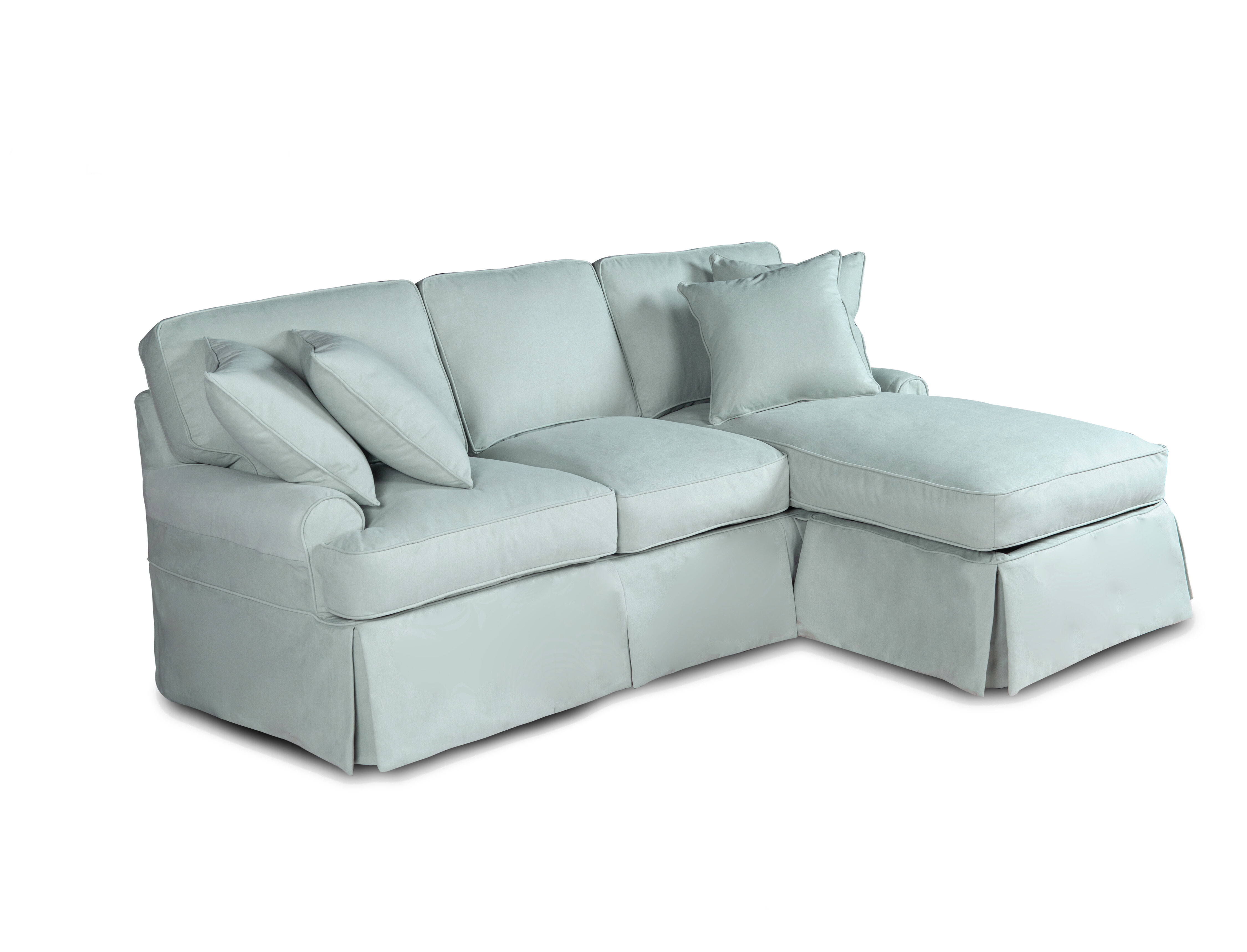 - Symple Stuff Huguley T-Cushion Sofa And Chaise Lounge Slipcover