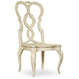 Auberose Solid Wood Queen Anne Back Side Chair (Set of 2) by Hooker Furniture
