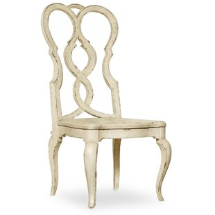 Auberose Solid Wood Queen Anne Back Side Chair Set of 2 by Hooker Furniture