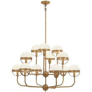 Mercer41 Philippa 12-Light Shaded Chandelier