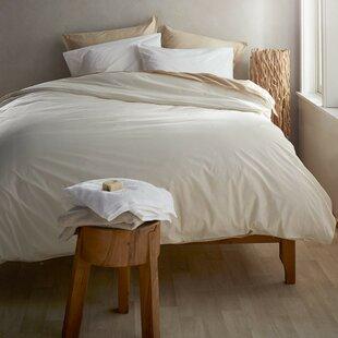 VivaTerra Classic Egyptian-Quality Cotton 3 Piece Duvet Cover Set
