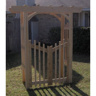Attached Gate Arbors You'll Love in 2020 | Wayfair