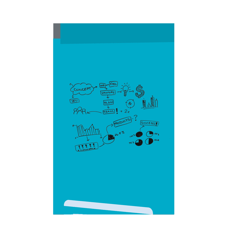 Blue Dry Erase Memo Boards You Ll Love In 2021 Wayfair