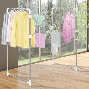 Czajkowski 110cm Wide Clothes Rack By Rebrilliant