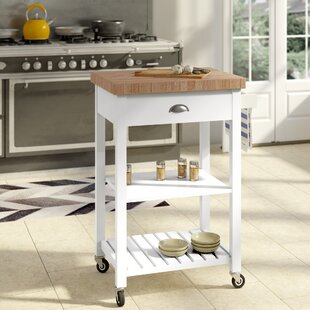 Haller Kitchen Cart August Grove
