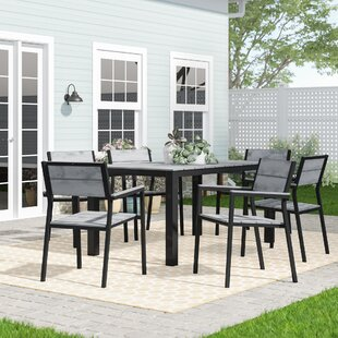 Windsor 7 Piece Outdoor Patio Dining Set