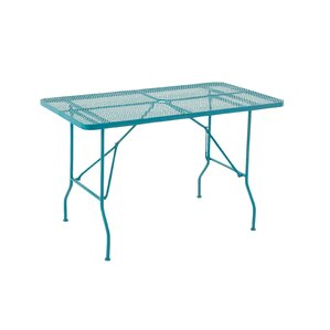 Metal Fold Outdoor Bar Table by Cole & Grey