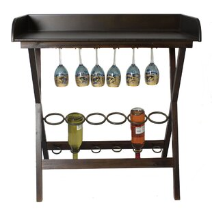 Urban 6 Bottle Floor Wine Rack by EC World Imports