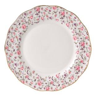 Rose Confetti Formal Vintage Dinner Plate  sc 1 st  Wayfair & Vintage Dinner Plates   Wayfair