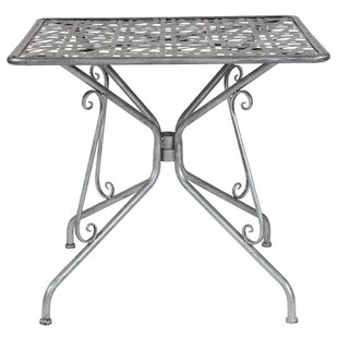 Oak Park Metal Side Table