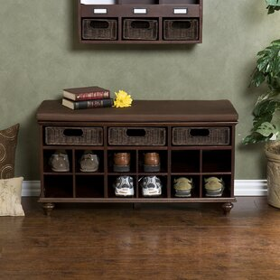Belmeade 12 Pair Shoe Storage Bench