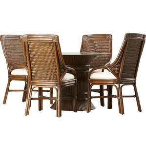Bak 5 Piece Dining Set by World Menagerie