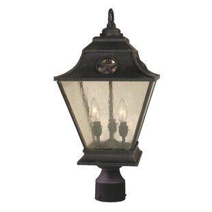 Price Check Oakhill 3-Light Bronze Aluminum Lantern Head By Charlton Home
