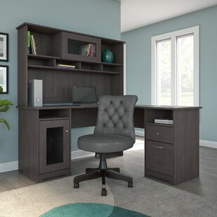 Hillsdale L-Shaped Configurable Office Set