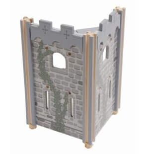 Affordable Edix the Medieval Village Angle Tower By Le Toy Van