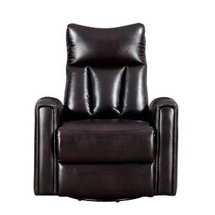 Kumar Manual Swivel Recliner by Latitude Run New