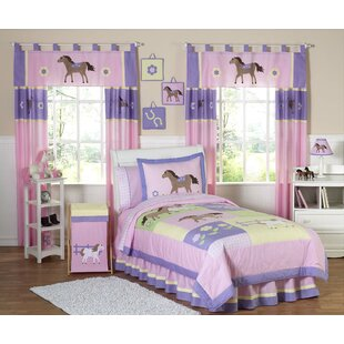 Pony 4 Piece Twin Comforter Set