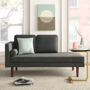 Juliette Mid Century Chaise Lounge By Foundstone