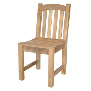 Chelsea Teak Patio Dining Chair by Anderson Teak Amazing