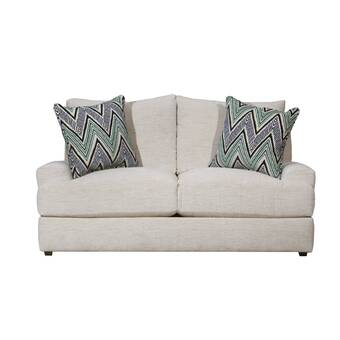 Darby Home Co Mariana 65 Wide Square Arm Loveseat Wayfair