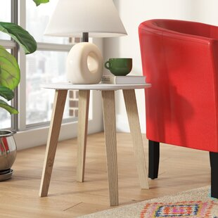 Savings Haigler End Table by Ivy Bronx