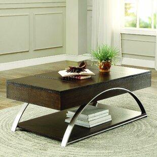 Latitude Run Aldo Lift Top Coffee Table