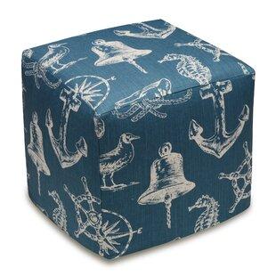 123 Creations Nautical Cube Ottoman