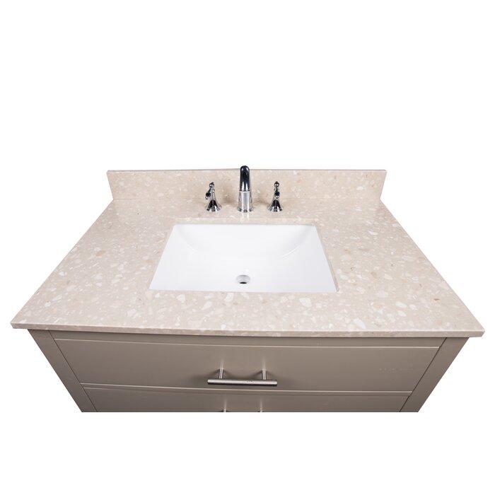 Sensational Tibetan 31 Single Bathroom Vanity Top Beutiful Home Inspiration Semekurdistantinfo