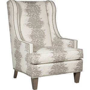 narrow wingback chair