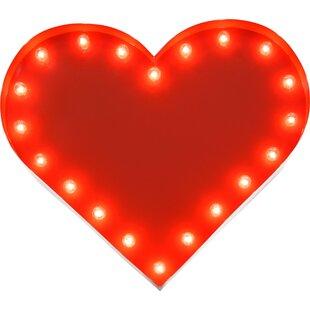 TrekBeds Heart Indoor/Outdoor 20 Light Marquee Light