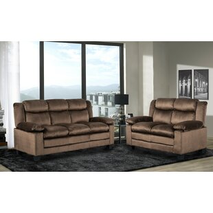 Leander 2 Piece Living Room Set by Winston Porter