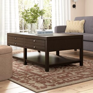 Delvalle Rectangle Coffee Table by Laurel Foundry Modern Farmhouse