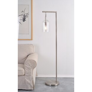 Boyette 62 Swing Arm Floor Lamp