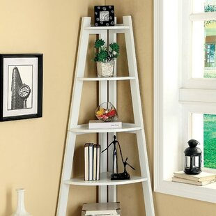 Schutte Corner Bookcase by Breakwater Bay Top Reviews