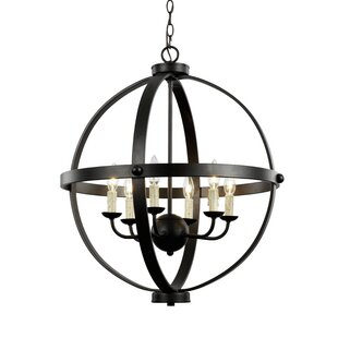 Keven 6-Light Chandelier b..