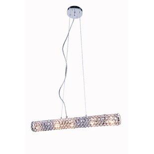 Best Price Halfmoon 5-Light Crystal Chandelier By Latitude Run