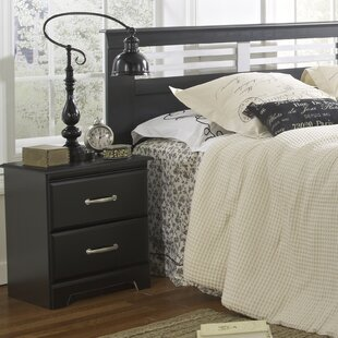 Trenton 2 Drawer Nightstand by Lang Furniture