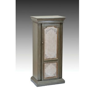 Cuddyer Wooden Free Standing Jewelry Armoire with Mirror By One Allium Way