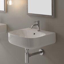 Bathroom Sink modern wall mount bathroom sinks | allmodern