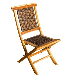 Folding Teak Patio Dining Chair