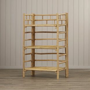 Compare prices Porter 3 Tier Etagere Bookcase By Bay Isle Home