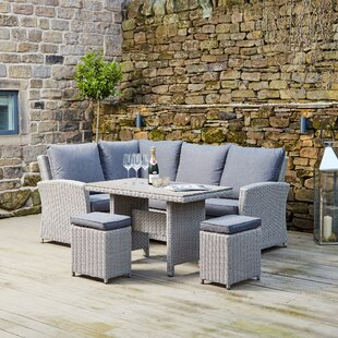 High 6 Seater Rattan Corner Sofa Set By Sol 72 Outdoor