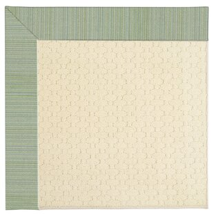 Lisle Light Beige Spa Indoor/Outdoor Area Rug by Longshore Tides Best Design
